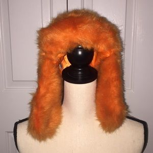 Urban Outfitters Faux Fur Wintery Hat